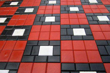 Bright Tiles Paving Tiles Designer TilesWire Cut Bricks